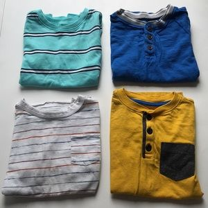 (4) Size 5T Old Navy T-Shirts